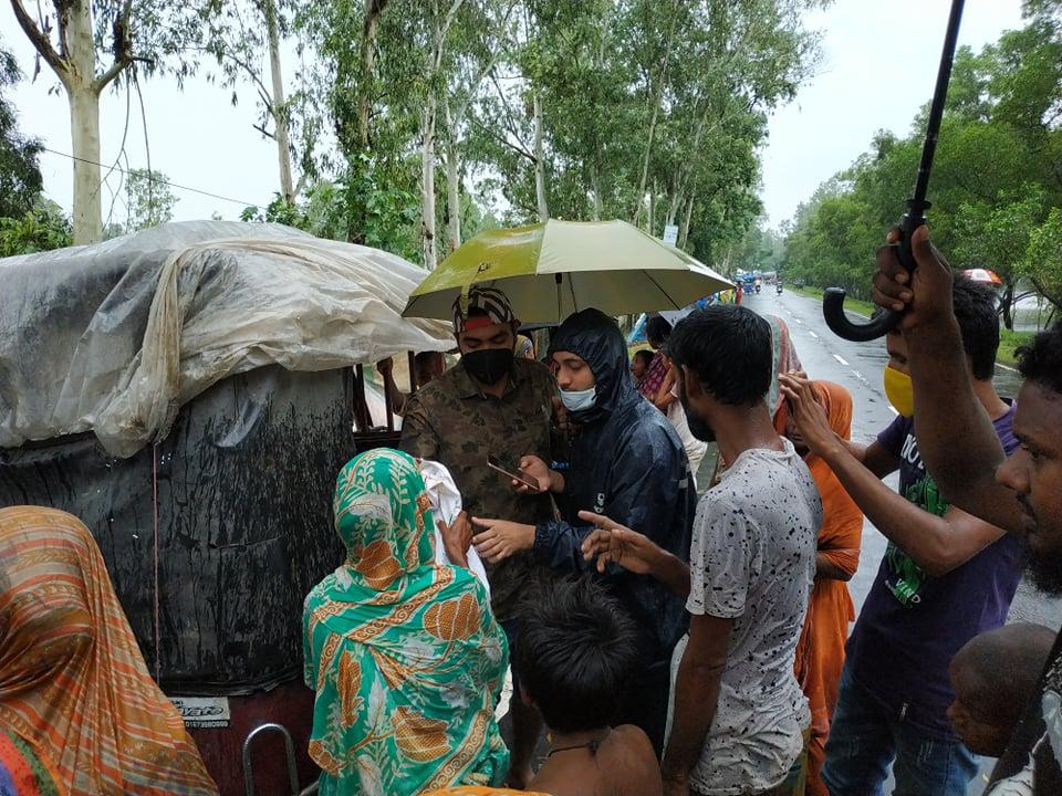 AJ Salim working in Kurigram Sadar Upazila